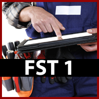 Field Service Technician 1 (FST1) with Textbook